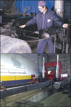 Reparation chassis camion laval st eustache terrebonne st for Reparation electromenager st eustache